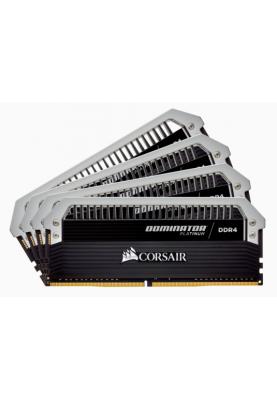 Память Corsair 32 GB (4x8GB) DDR4 3000 MHz Dominator Platinum (CMD32GX4M4C3000C15)