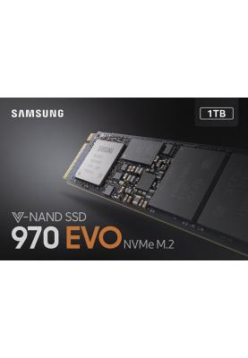 SSD накопитель Samsung 970 EVO 1 TB (MZ-V7E1T0BW)