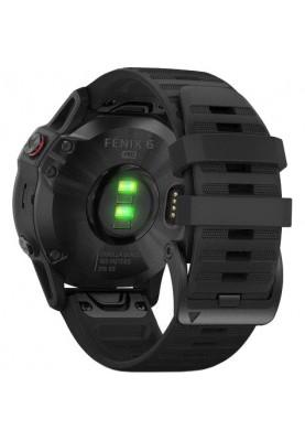 Спортивные часы Garmin Fenix 6 Pro Black (010-02158-02/010-02158-01)