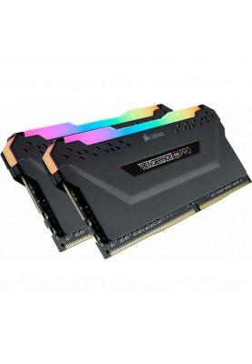 Память Corsair 16 GB (2x8GB) DDR4 3600 MHz Vengeance RGB Pro Black (CMW16GX4M2D3600C18)