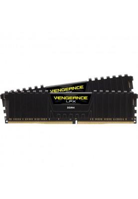 Память Corsair 64 GB (2x32GB) DDR4 3600 MHz Vengeance LPX Black (CMK64GX4M2D3600C18)