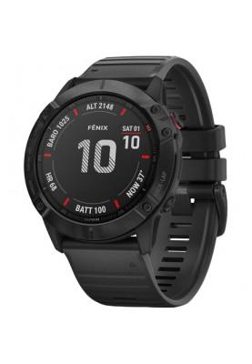 Спортивные часы Garmin Fenix 6X Pro Black with Black Band (010-02157-01)