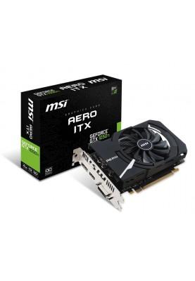 Видеокарта MSI GeForce GTX 1050 Ti AERO ITX 4G OCV1