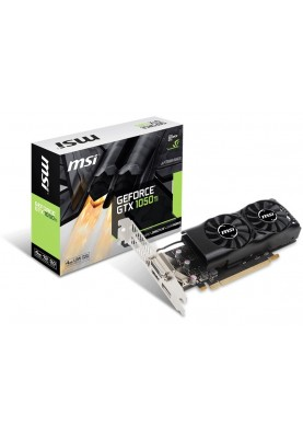 Видеокарта MSI GeForce GTX 1050 Ti 4GT LP 4GB GDDR5