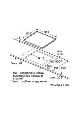 Варочная поверхность электрическая Bosch PKE645B17E