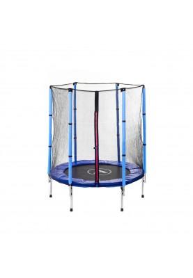Батут Atleto 140 см Blue с защитной сеткой (21000400)