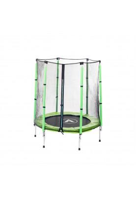 Батут Atleto 140 см Green с защитной сеткой (21000402)