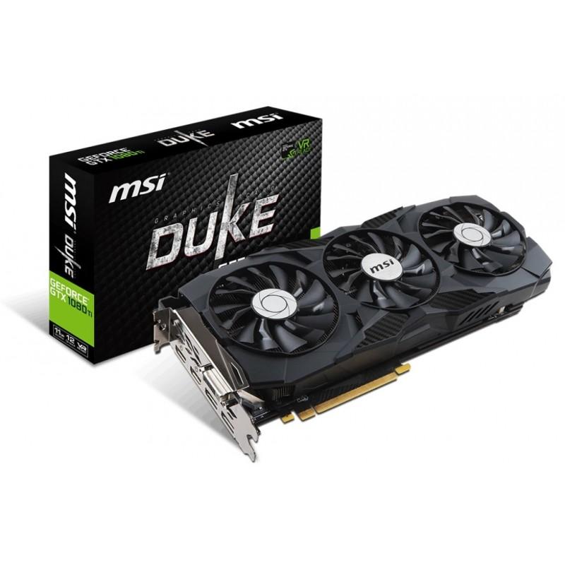 Видеокарта MSI GeForce GTX 1080 TI DUKE 11G - Tehnopostavka