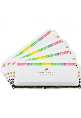 Память Corsair 32 GB (4x8GB) DDR4 3200 MHz Dominator Platinum RGB (CMT32GX4M4C3200C16W)