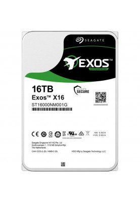 Жесткий диск Seagate Exos X16 SATA 16 TB (ST16000NM001G)