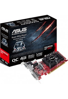 Видеокарта ASUS Radeon R7 240 4096MB 128bit Low Profile OC