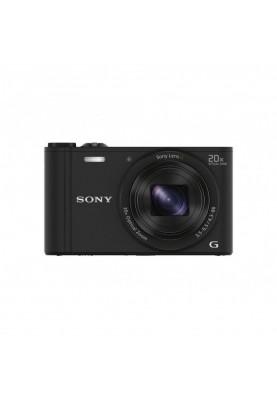 Компактный фотоаппарат Sony DSC-WX350 Black