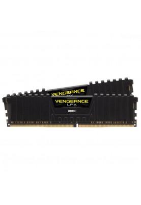 Память Corsair 16 GB (2x8GB) Black DDR4 3600 MHz Vengeance LPX (CMK16GX4M2D3600C18)
