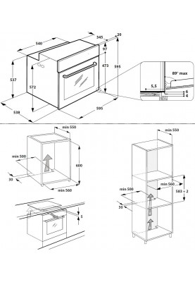 Духовой шкаф электрический Whirlpool AKZ96230IX