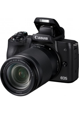 Беззеркальный фотоаппарат Canon EOS M50 kit (18-150mm) IS STM Black (2680C056)