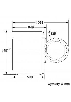 Стирально-сушильная машина автоматическая Bosch WVG30460PL