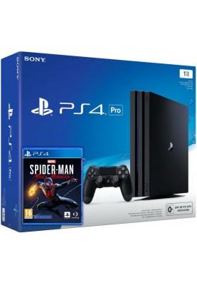 Стационарная игровая приставка Sony Playstation 4 Slim (PS4 Slim) 1TB + Spider-Man