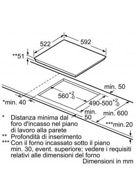Варочная поверхность электрическая Bosch PUE612FF1J