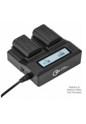 Зарядное устройство GREEN EXTREME UNIVERSAL DUAL CHARGER WITH LCD (GXCH2)