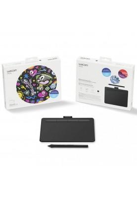 Графический планшет Wacom Intuos S Black (CTL-4100K-N)