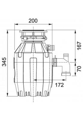 Измельчитель пищевых отходов Franke Turbo Elite TE-50 (134.0535.229)