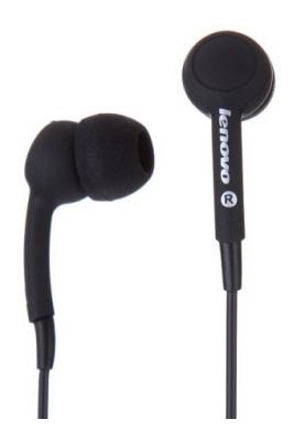 Наушники Lenovo In-Ear Headset P165 Black (888016076)