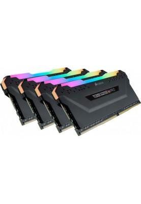 Память Corsair RGB Pro K4 32GB DDR4 3200MHz CL16 (CMW32GX4M4Z3200C16)