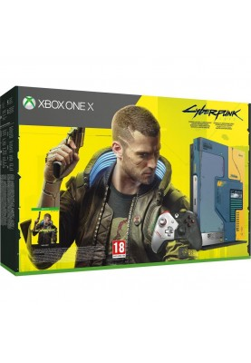 Стационарная игровая приставка Microsoft Xbox One X 1TB Cyberpunk 2077 Limited Edition (FMP-00244)