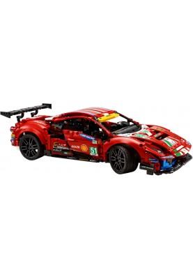 Авто-конструктор LEGO Technic Ferrari 488 GTE AF Corse №51 (42125)