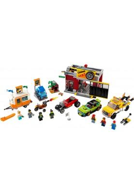 Блочный конструктор LEGO City Тюнинг-мастерская (60258)