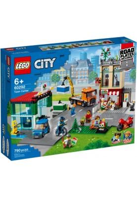Блочный конструктор LEGO City Центр города (60292)