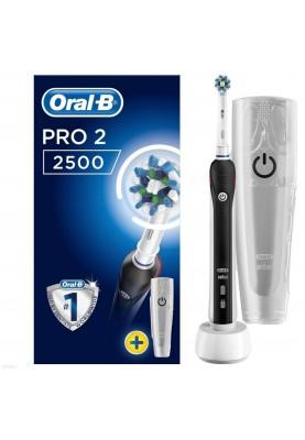 Электрическая зубная щетка Oral-B Pro 2500 Black