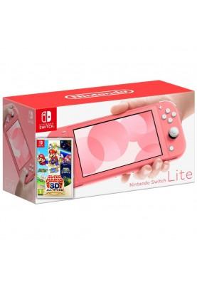 Портативная игровая приставка Nintendo Switch Lite Coral (HDHSPAZAA)