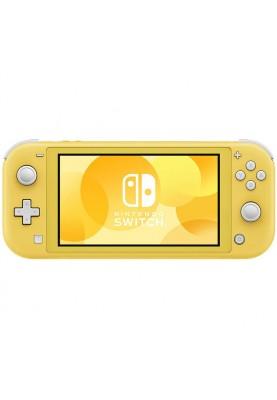 Портативная игровая приставка Nintendo Switch Lite Yellow (HDHSYAZAA)
