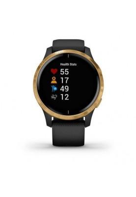 Смарт-часы Garmin Venu Black/Gold (010-02173-33/010-02173-31/010-02173-39/010-02173-32)