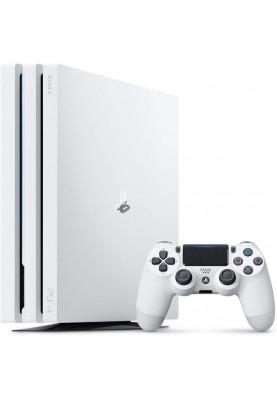 Стационарная игровая приставка Sony PlayStation 4 Pro (PS4 Pro) 1TB Limited Edition White