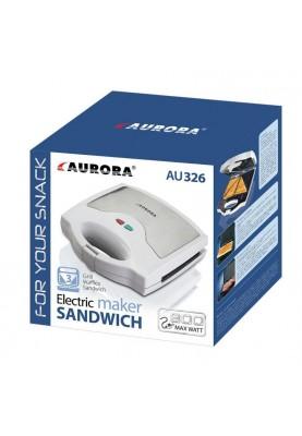 Мультимейкер (бутербродница-вафельница-гриль) Aurora AU 326