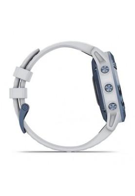 Смарт-часы Garmin Fenix 6 Pro Solar Edition Mineral Blue with Whitestone Band (010-02410-19/18)