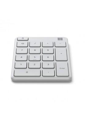 Цифровая клавиатура (Numpad) Microsoft Number Pad White (23O-00032)