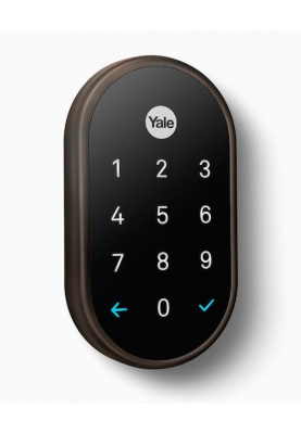 Умный дверной замок Google Nest x Yale Lock Oil Rubbed Bronze