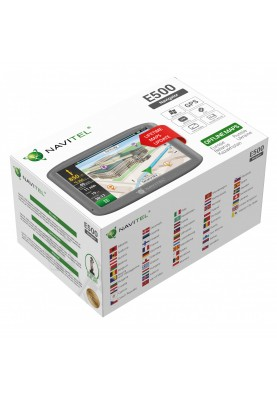 GPS-навигатор автомобильный Navitel E500