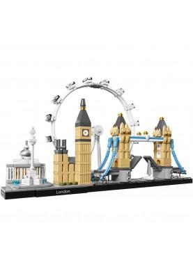 3d конструктор LEGO Architecture Лондон (21034)