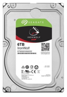 Жесткий диск Seagate IronWolf 6 TB (ST6000VN001)