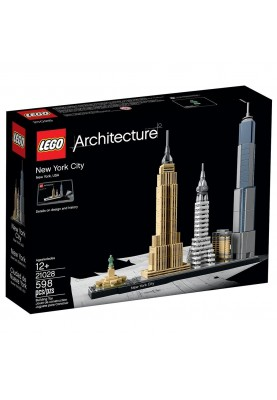 3d конструктор LEGO Architecture Нью-Йорк (21028)