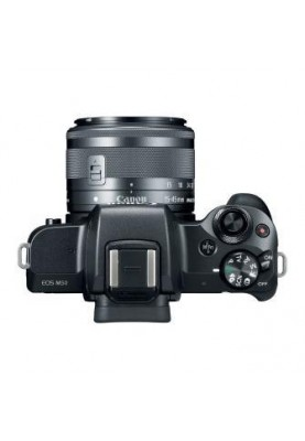 Беззеркальный фотоаппарат Canon EOS M50 kit (15-45mm + 55-200mm) IS STM Black (2680C054)