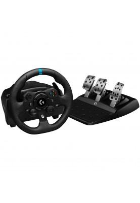 Комплект (руль, педали) Logitech G923 Xbox One/PC (941-000158)