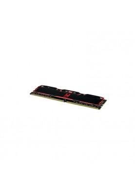 Память GOODRAM 16 GB DDR4 3000 MHz IRDM X Black (IR-X3000D464L16/16G)