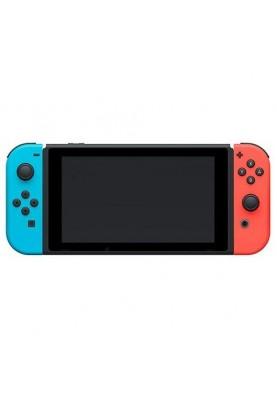 Портативная игровая приставка NINTENDO Switch with Neon Blue and Neon Red Joy-Con