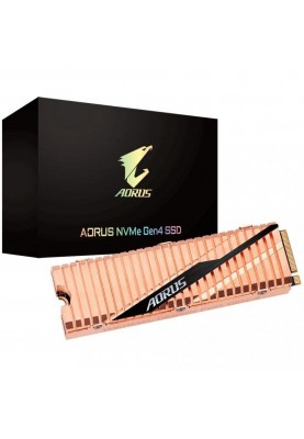 SSD накопитель GIGABYTE AORUS NVMe Gen4 SSD 1 TB (GP-ASM2NE6100TTTD)