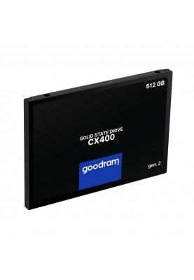 SSD накопитель GOODRAM CX400 Gen.2 512 GB (SSDPR-CX400-512-G2)